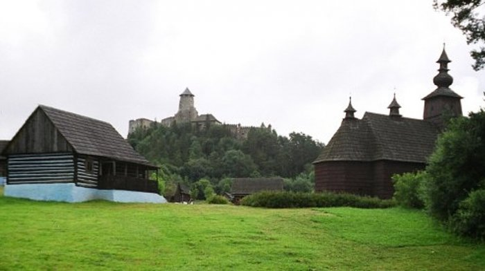 Ethnographic exposition in nature - open-air museum in Stará Ľubovňa